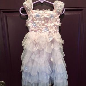 Gorgeous Biscotti Fairy Dress Size 2T